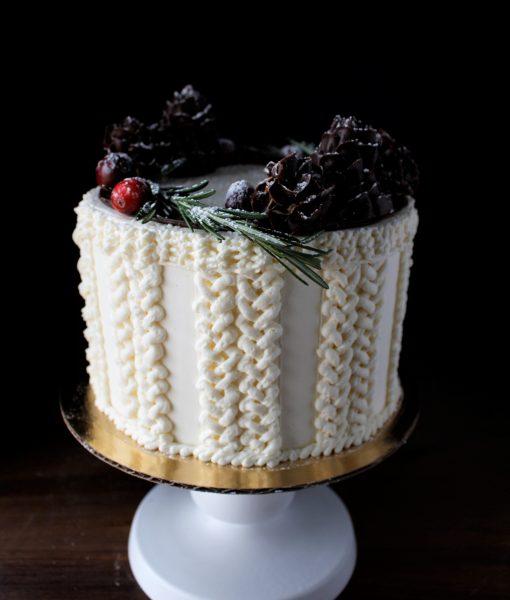 Cozy Winter Cake Apple Butter Bakery